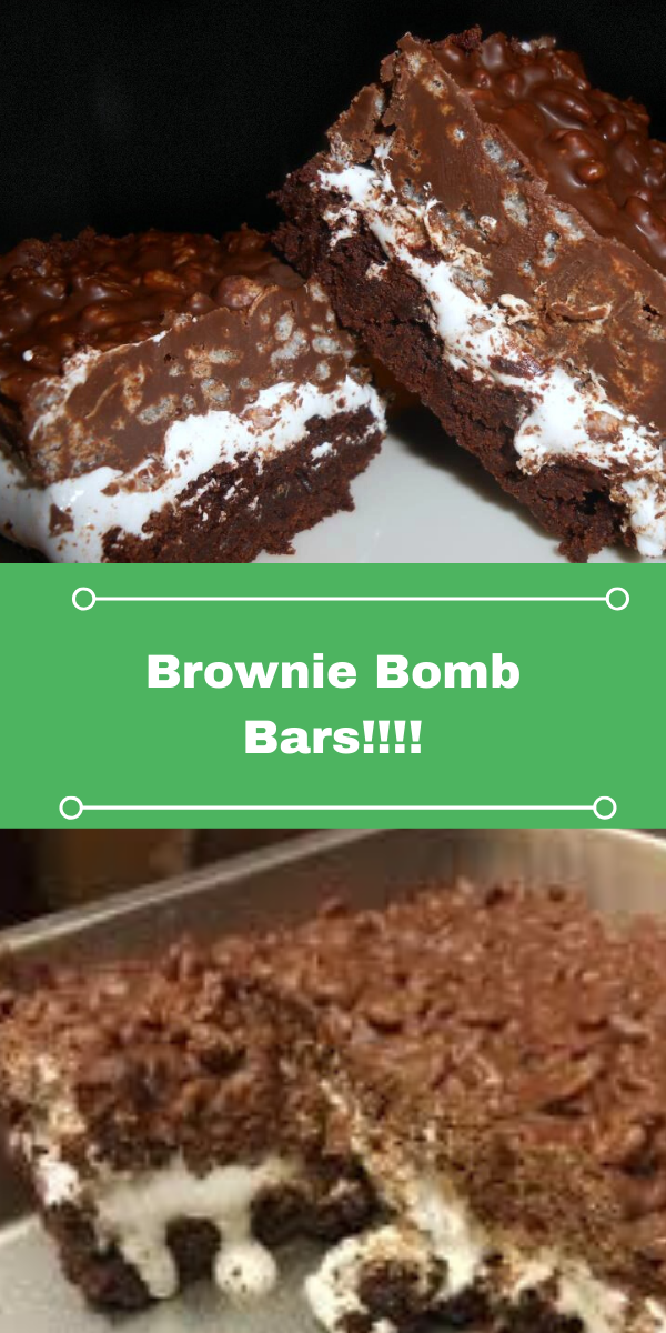Brownie Bomb Bars!!!!