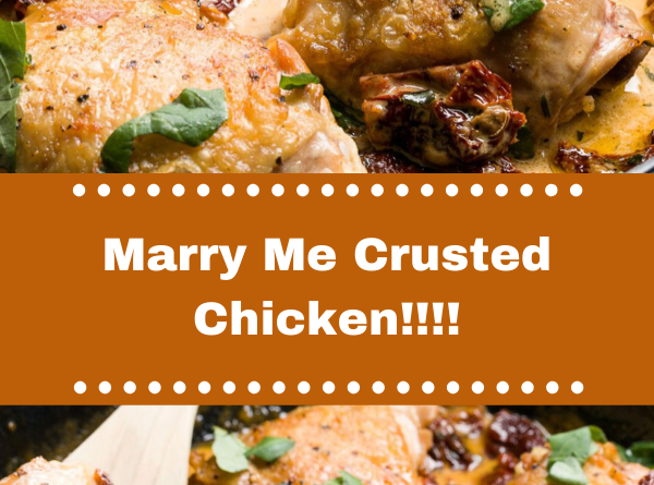 Marry Me Crusted Chicken!!!!