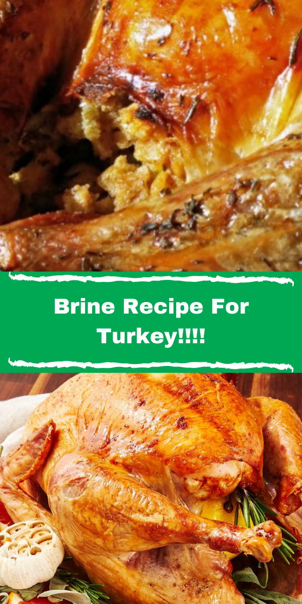Brine Recipe For Turkey!!!!