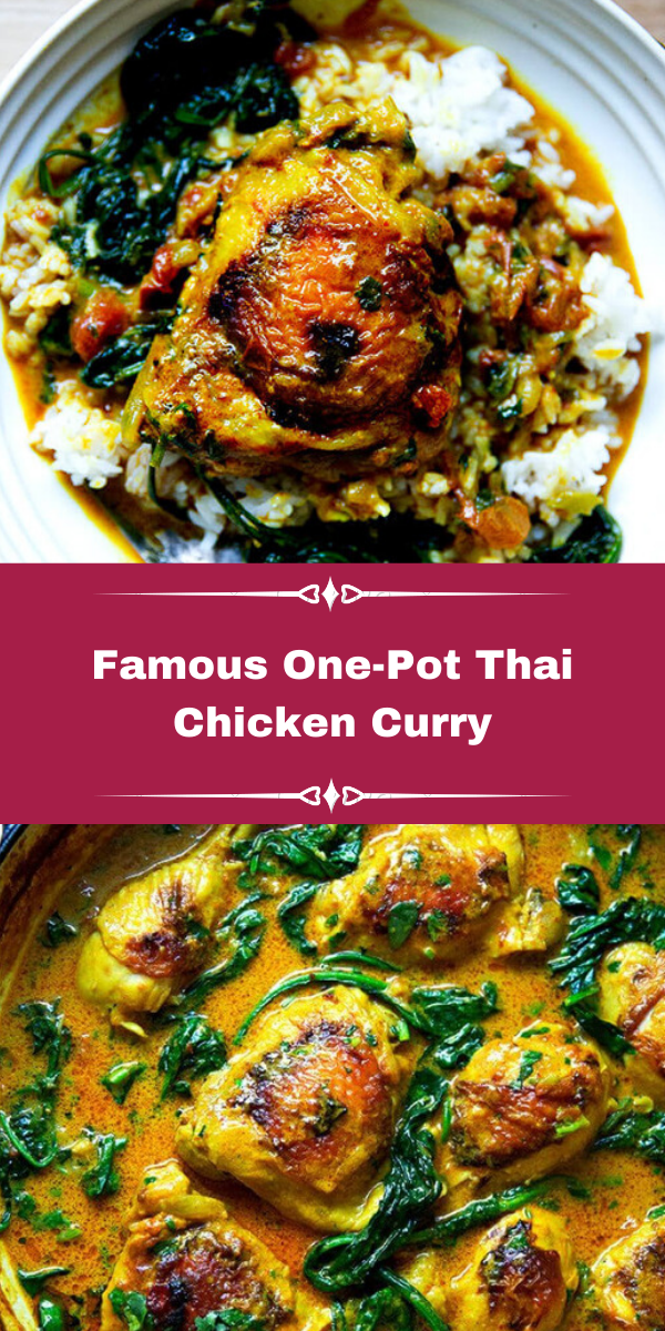 Famous One-Pot Thai Chicken Curry