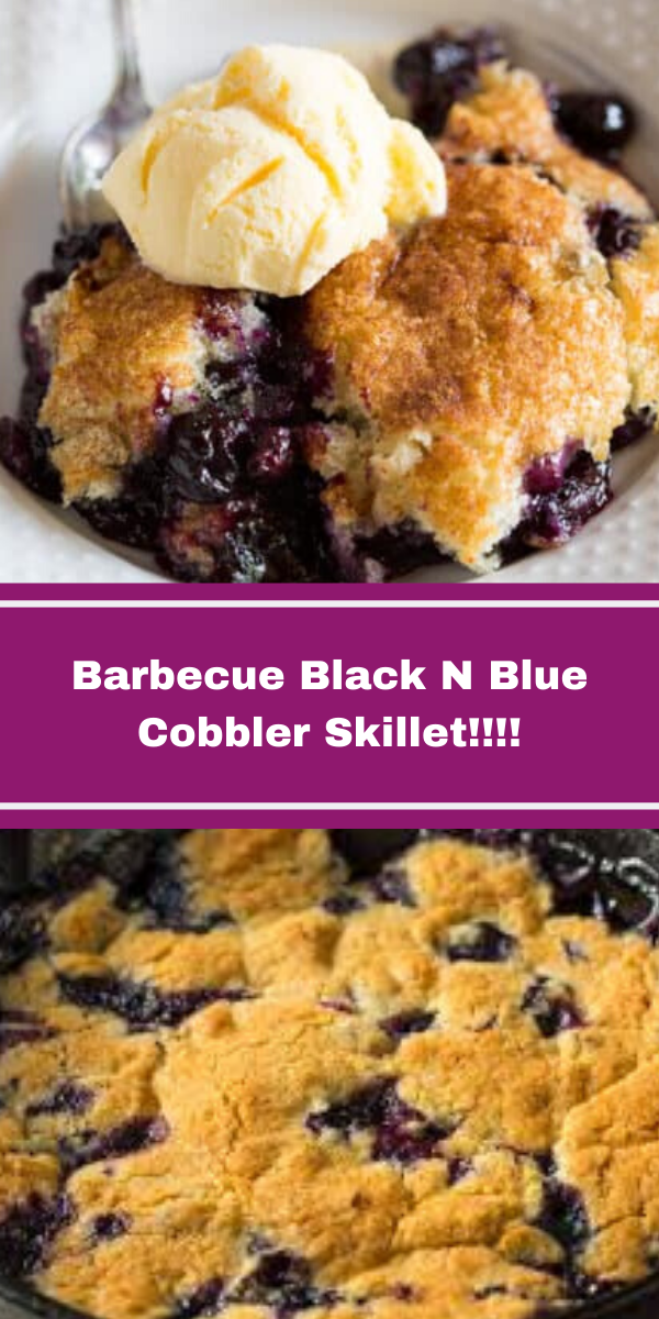 Barbecue Black N Blue Cobbler Skillet!!!!