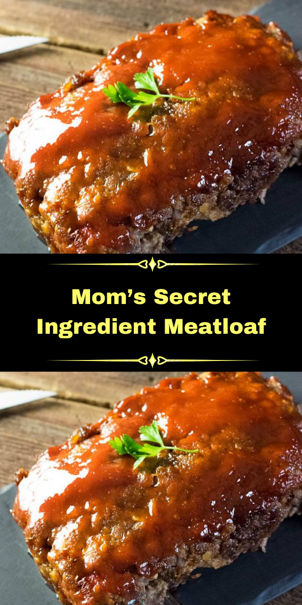 Mom's Secret Ingredient Meatloaf