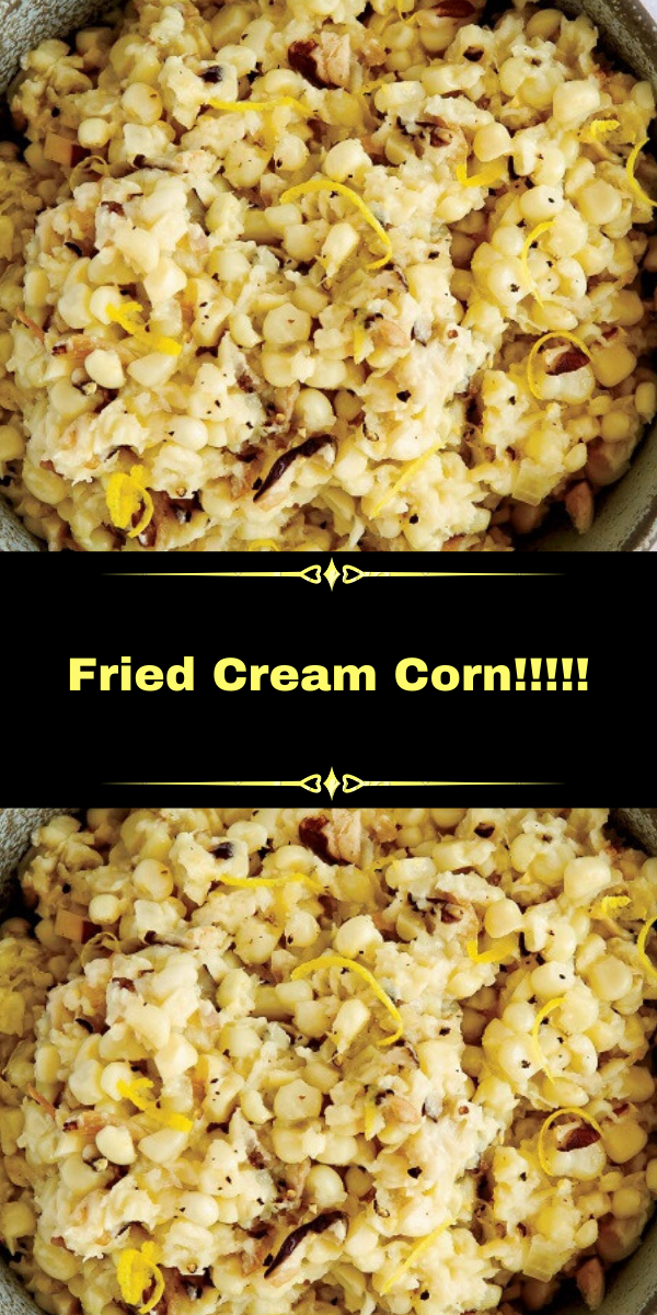 Fried Cream Corn!!!!!