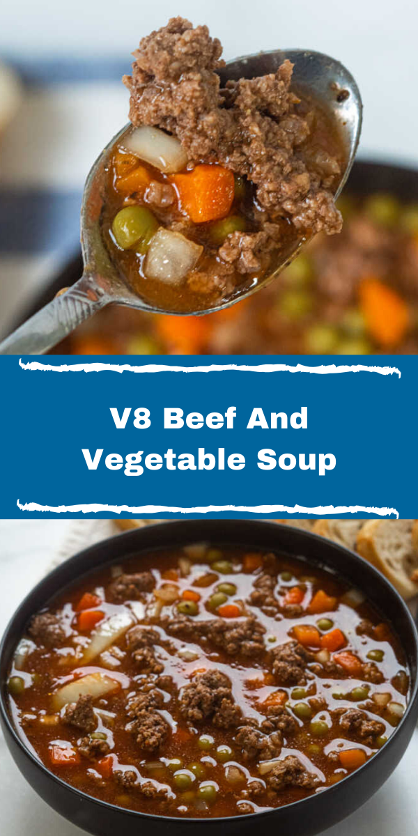 V8 Beef And Vegetable Soup
