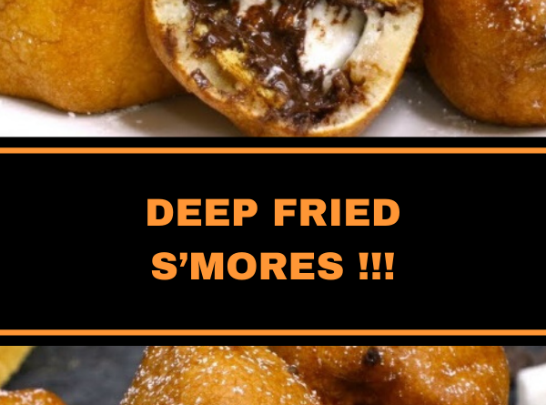 DEEP FRIED S'MORES !!!